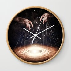 The Greatest Puppeteer Wall Clock
