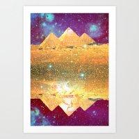 Pyramid Magick Art Print