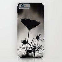 Flower In Black And Whit… iPhone 6 Slim Case