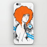 Mary Gold iPhone & iPod Skin