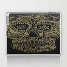 Gold Skull Laptop & iPad Skin