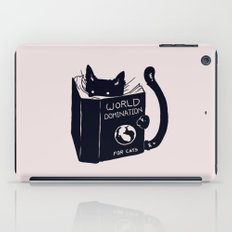 World Domination For Cats iPad Case