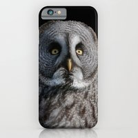 iPhone & iPod Case featuring GREY OWL by Catspaws