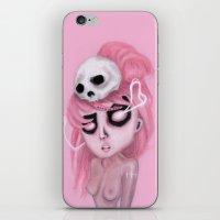 Bubblegum Pink iPhone & iPod Skin