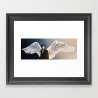 The other side - Sherlock Framed Art Print