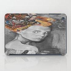 Dame black and white  iPad Case