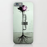 iPhone & iPod Case featuring Rooted Sound III by bananabread