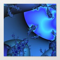 Into Another Dimention  Canvas Print