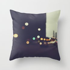 Late Night Throw Pillow