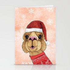 Alpaca Christmas Stationery Cards