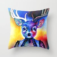 Reh Rote Throw Pillow