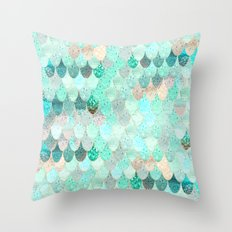 SUMMER MERMAID Throw Pillow