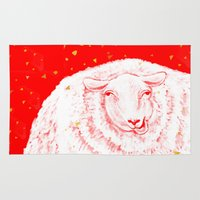Year Of The Sheep Rug