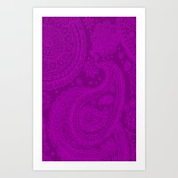 Paisley 3 Art Print