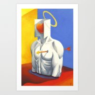 Art Print featuring Love by Paolo Uberti
