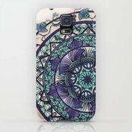 Morning Mist Mandala Galaxy S5 Slim Case
