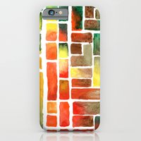 iPhone & iPod Case featuring Color Study Bright Earth Tones by Dana Martin