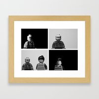 Lego Explored Framed Art Print