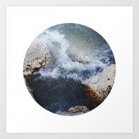 Planetary Bodies - Waves Art Print
