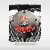 Ol' Skool Shower Curtain