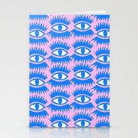 Bold Eyes II Stationery Cards