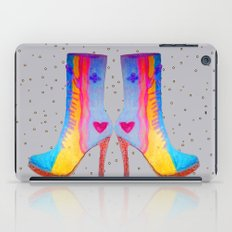 The Elisavet's Painted Boots | Kids painting |Fashion Design iPad Case