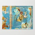 Cosmodigilogital Honey Canvas Print