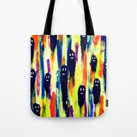 paint-pattern 1 (the chaps) Tote Bag