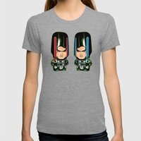 Starkiller Womens Fitted Tee Tri-Grey SMALL