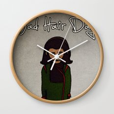 bad hair day no:1 / Planet of the Apes Wall Clock