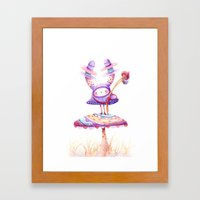 In The Land Of Magic Mus… Framed Art Print