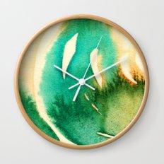 inkblot 1 Wall Clock