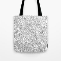 Sperm Pattern Tote Bag