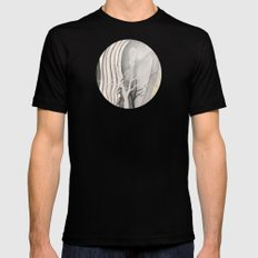 Earth 1 Black Mens Fitted Tee SMALL