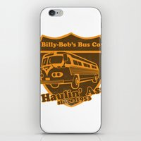 Haulin' A iPhone & iPod Skin