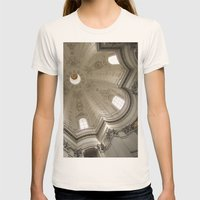 Borromini's Sant'Ivo Womens Fitted Tee Natural SMALL