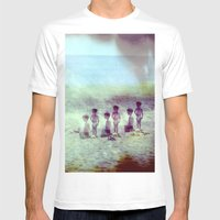 Childhood Mens Fitted Tee White SMALL