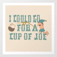 Cup O' Joe Art Print