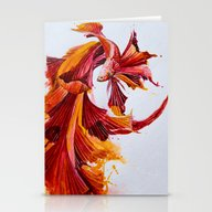 Stationery Cards featuring Ignite by Marc Allante