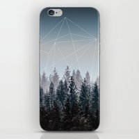 Woods iPhone & iPod Skin
