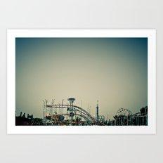 The Carnival. Art Print