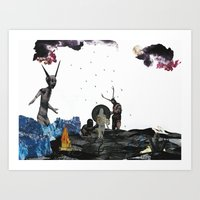 To Hell With You Art Print