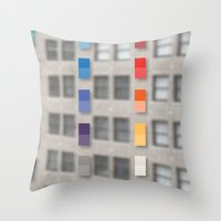 New America Office One Throw Pillow