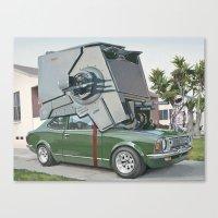 Hybrid Vehicle Canvas Print