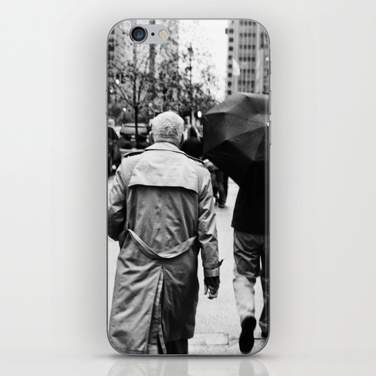New York Walker iPhone & iPod Skin