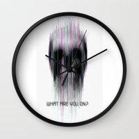 Blured Wall Clock