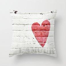 L'amour  Throw Pillow