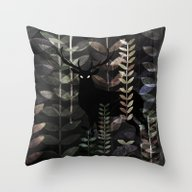 Throw Pillow featuring Glass Forest by Dao Linh
