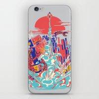 Smash! Zap!! Zooom!! - G… iPhone & iPod Skin