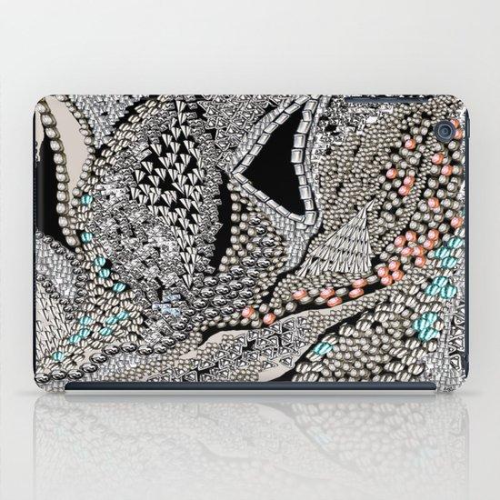 Silver Jewel iPad Case